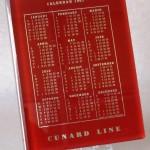Calendario Cunard