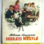 Album cromos CHOCOLATES NESTLÉ