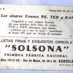 Cromos Los Alegres Enanos Pe, Ter y Pan GALLETAS SOLSONA