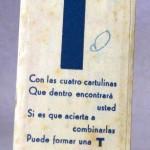 Pequeño puzzle promocional DESTILERÍAS BOFILL.