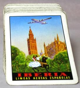 Baraja promocional de Iberia