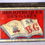 Caja de cerillas BIBLIOTHEQUES DES GARES