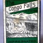 Caja de cerillas THE CONGO FALLS