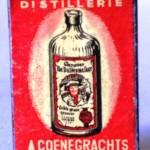 Caja de cerillas DISTILLERIE A. COENEGRATCHS