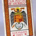 Almanaque Caja Postal de Ahorros